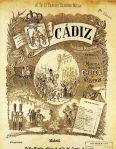 Cádiz-Partitura