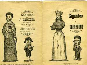 Gigantes y cabezudos-Publicidad