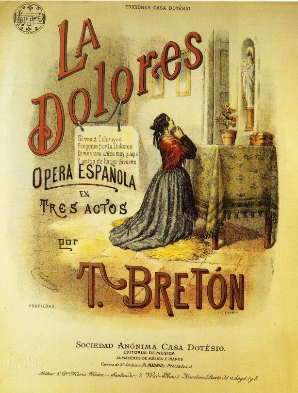 La Dolores-Partitura