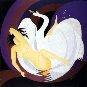 Leda y el cisne Francesco Sgroi