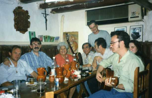 Con Mauricio y Carlos Carabajal en El Pajarcico004