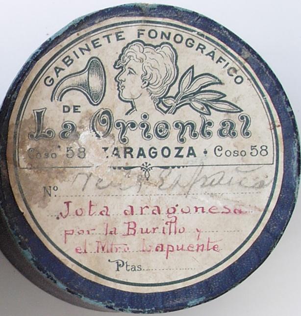 Lapuente y Burillo_Cilindro para fonógrafo