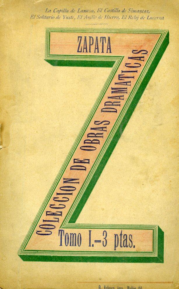Zapata, Marcos-Colección de obras dramáticas