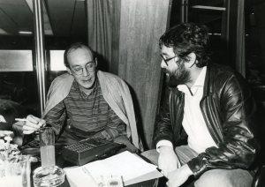 Con Francisco Rico