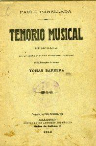 Parellada, Pablo_Tenorio musical