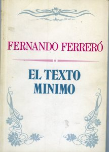 Ferreró, El texto mínimo005