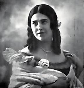 Elvira de Hidalgo como Rosina