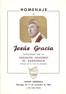 Gracia, Jesús-Peña El Cachirulo