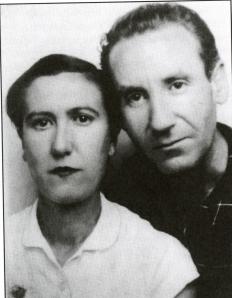 Osorio, Guillermo con Adelaida 1950
