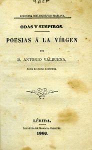 Valbuena_Poemas a la Virgen
