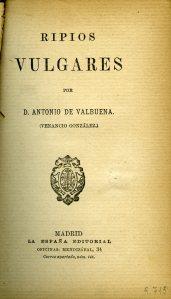 Valbuena_Ripios vulgares