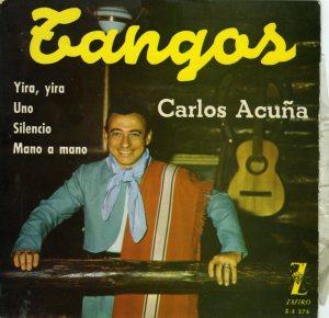 Acuña-Primer disco en España