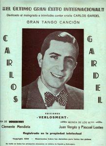 Carlos Gardel-Partitura editada en Zaragoza 1935001