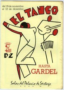 El tango hasta Gardel-Programa Exposición 1986001
