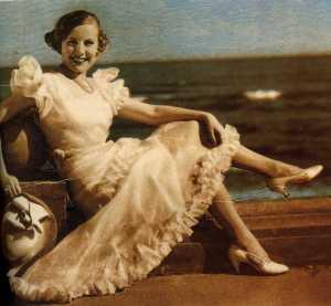 Rosita Díez 1933