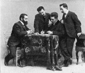 Melantuche, Atanasio con García Arista, Serrano y Barrera013
