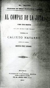 Navarro, Calixto, Al compás de la jota008
