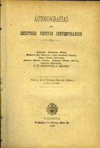 Navarro, Calixto, Autobiografías de escritores festivos contemporáneos009