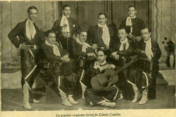 Cátulo Castillo, Orquesta 1