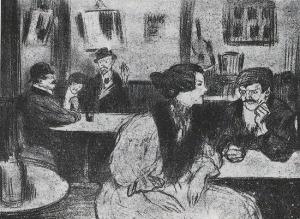 Café Fornos por Picasso