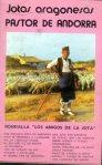 Pastor de Andorra-Casette Jotas aragonesas