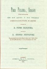 Marquina, Pedro, Para palabra, Aragón001