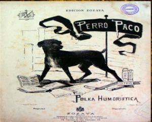 El perro Paco Polka humorística