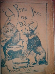 El perro Paco x Blas Jocen