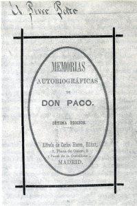 El perro Paco_Memorias de don Paco