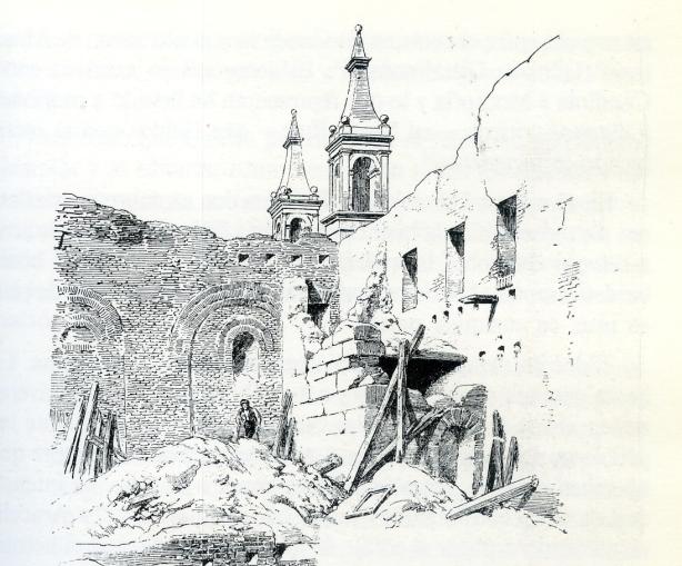 Galdós, Ruinas de Santa Engracia003