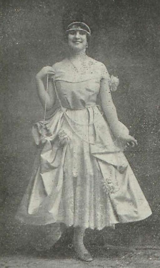 Lola Montes, Baleares 1918