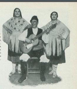 Gracia, Camila con Gregoria Ciprés y Fidel Seral